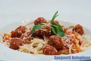 Spaguetti a la Bologñesa