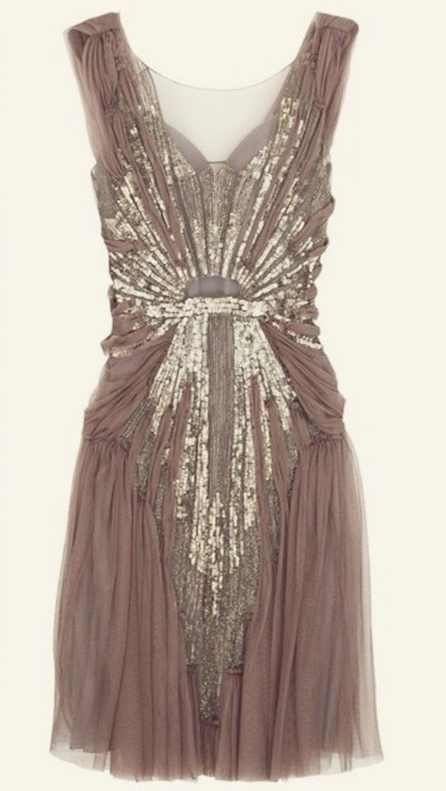 1920's bridesmaid dress