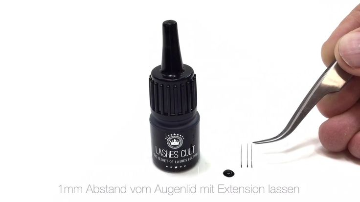 Wimpernkleber richtig anwenden? Training Eyelash Extensions Tutorial   R...