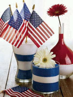 117 best military welcome home party images on pinterest for Patriotic welcome home decorations