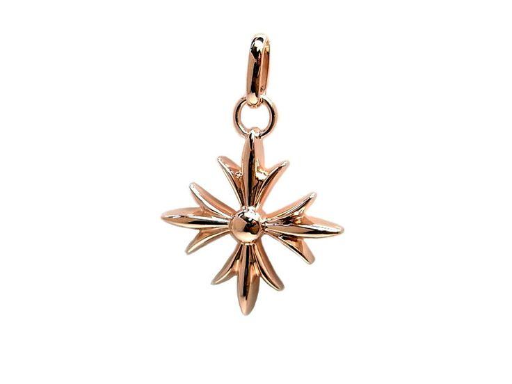 AMBRACE K18 pink gold gothic cross pendant ピンクゴールド ペンダント チャーム ネックレス ゴシック クロス