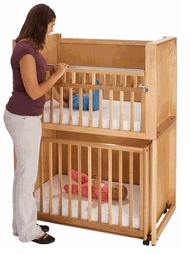 Bunk Cribs For Twins These Are Mini Crib Size And Only