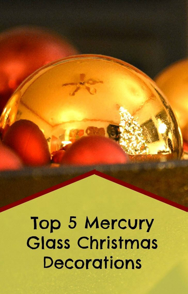 25 best Mercury Glass Christmas Decorations and Ornaments images on ...