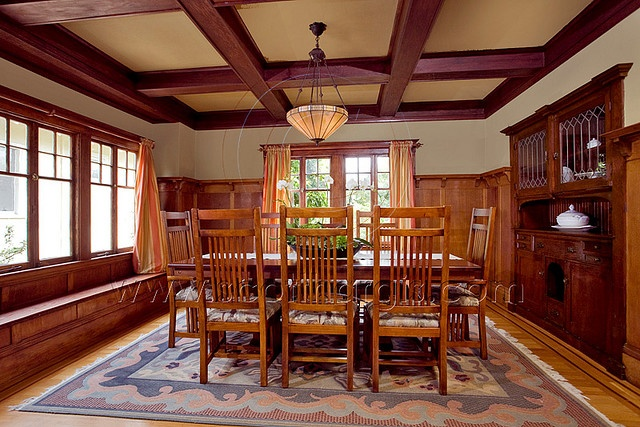Craftsman Dining Room. So in love with this :)