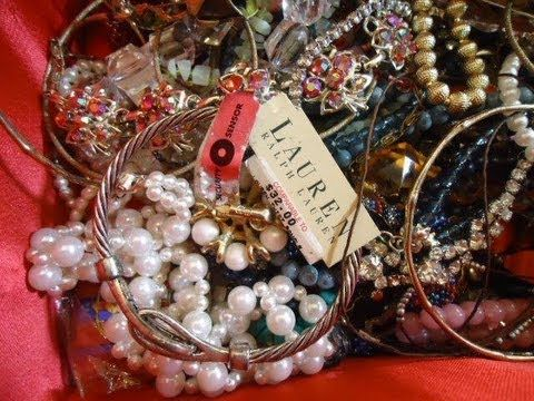Dumpster Diving Finds: A Dumpster Full Of Vintage Jewelry