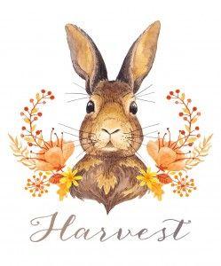 FREE printable harvest art