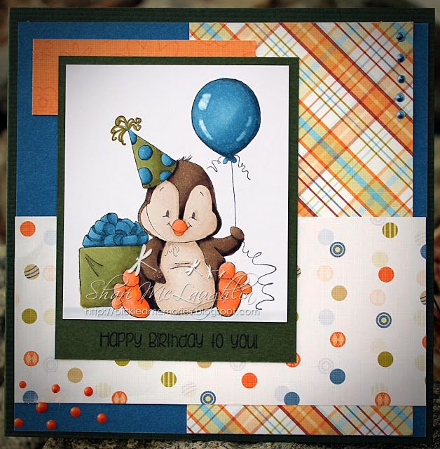 Pickled Memories: Wishing you a Penguin Birthday