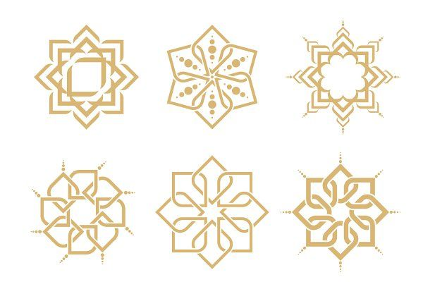 Arabic Patterns by Leone_v on @creativemarket