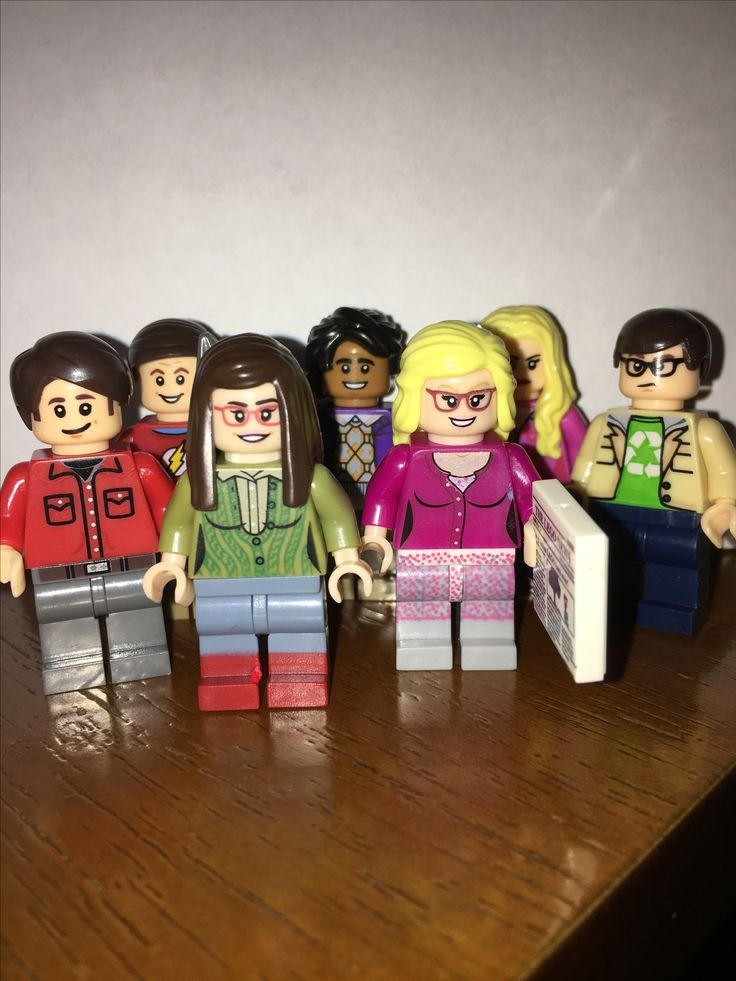 Big Bang teori legofig