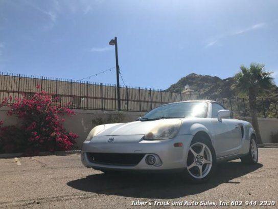 Convertible, 2003 Toyota MR2 Spyder with 2 Door in Phoenix, AZ (85020)
