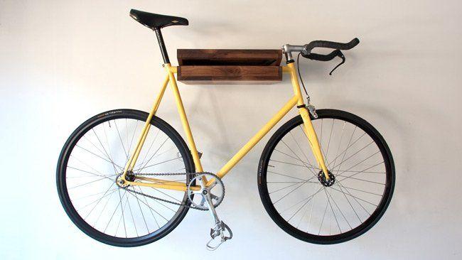 Estantería donde guardar la bicicleta