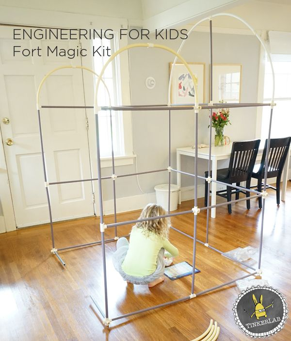 Engineering for Kid: Super Fun Fort Building Kit