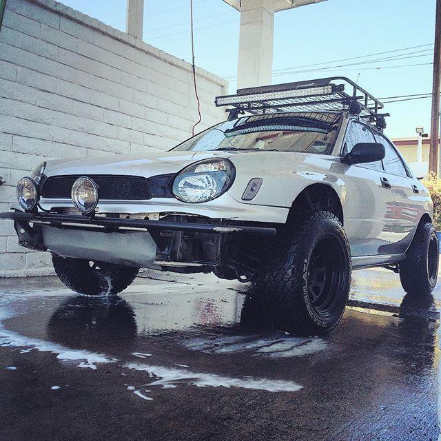 Finally got a car wash, gonna miss the mud.
