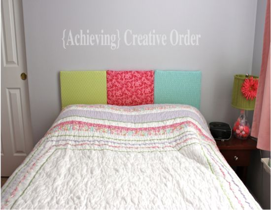 23 best images about bedrooms on pinterest diy for Do it yourself headboards with fabric