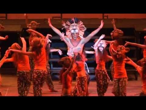 Musical The Lion King at Gran Via of Madrid. Close to the Rex Hotel.