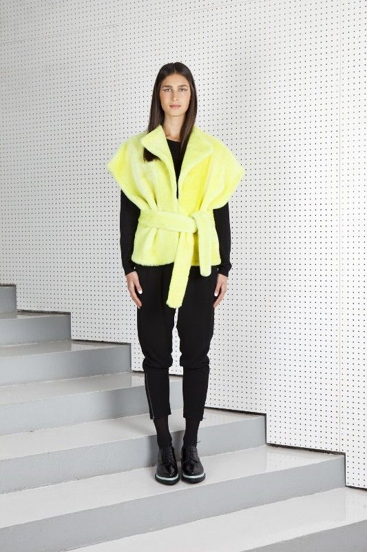 IPEK vest acid yellow via ONAR Studios. Click on the image to see more!