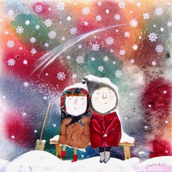 When Time Stands Still... - Postcards, Christmas and New Year