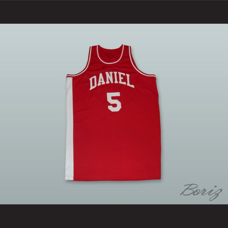 "Pistol Pete Maravich 5 Daniel High School Basketball Jersey. STITCH SEWN GRAPHICS  CUSTOM BACK NAME CUSTOM BACK NUMBER ALL SIZES AVAILABLE SHIPPING TIME 3-5 WEEKS WITH ONLINE TRACKING NUMBER Be sure to compare your measurements with a jersey that already fits you. Please consider ordering a larger size, if you prefer a loose fit. HOW TO CALCULATE CHEST SIZE: Width of your Chest plus Width of your Back plus 4 to 6 inches to account for space for a loose fit. Example: 18"" wide chest plus 18""…"