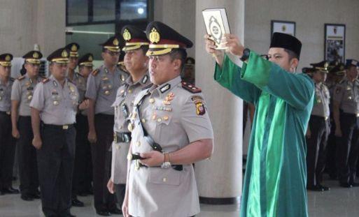 AKBP Rachmat Kurniawan Gantikan AKBP Oki Waskito Sebagai Kapolres Sanggau