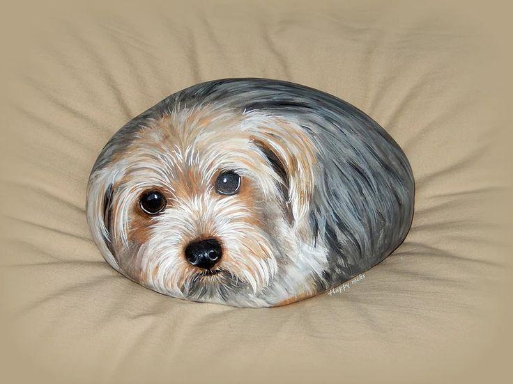 les 21 meilleures images du tableau peinture sur galets chien sur pinterest cailloux peints. Black Bedroom Furniture Sets. Home Design Ideas