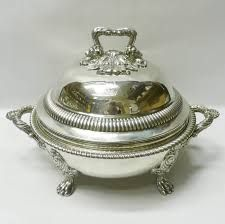 Image result for silver chafing dishes victorian