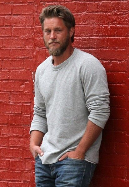 Actress Lena Dunham and 'Vikings' star Travis Fimmel were seen filming a scene for their latest project, and untitled short film, in Brooklyn, New York City, New York on April 13, 2017.