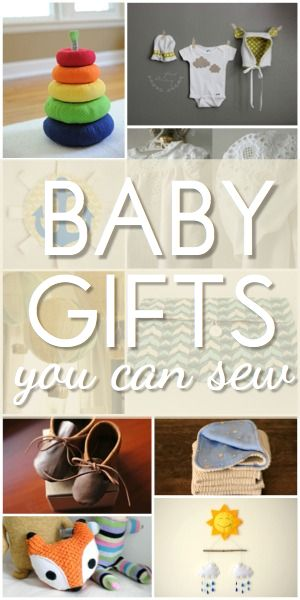 10 Baby Gifts You Can Sew!