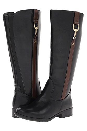 """LifeStride X-Ibit #2 Boot on """"Got Wide Calves? These Gorgeous Fall Boots Are For You"""" 