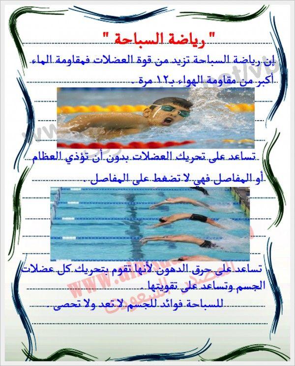 صور ومعلومات عن رياضة السباحة لغتي موقع علمني Map