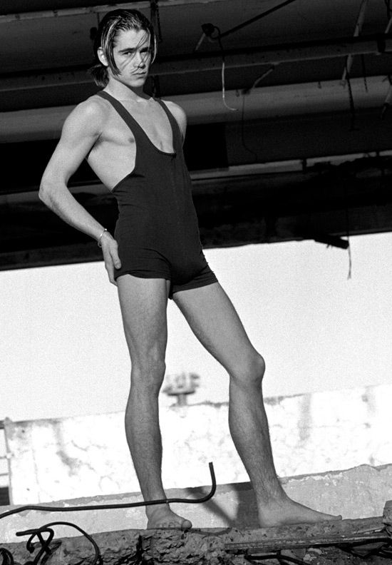 Colin Farrell Was Once A Very Slender Male Model