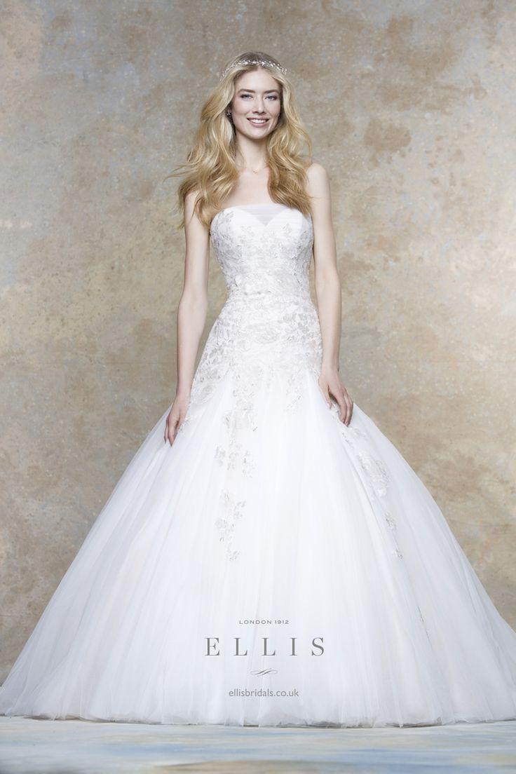 Ellis Bridals 2016 Wedding Dresses Magnolia Bridal Collection - 11449 | itakeyou.co.uk #weddingdress #weddinggown