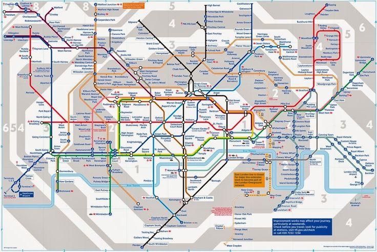 Las zonas de transporte de Londres determinan el precio del transporte y es importante saber cuáles te interesan si vas a visitar Londres para ahorrar