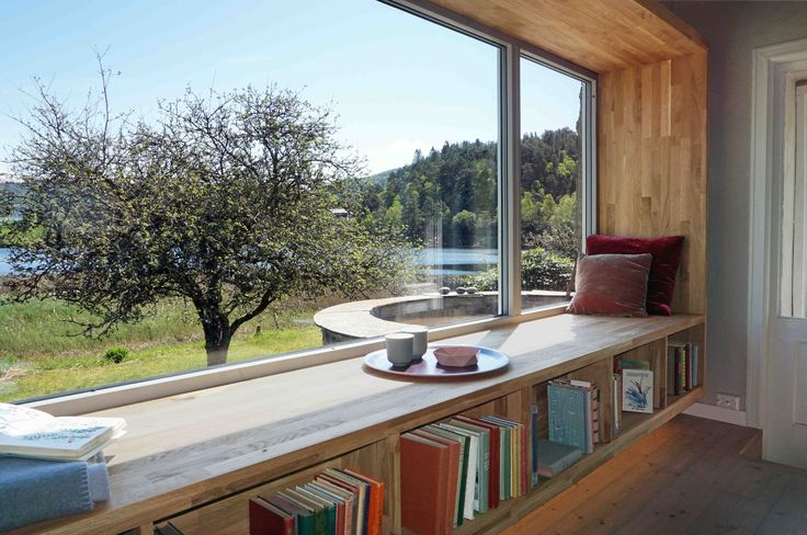 Modern Heritage meets Scandi Chic in our latest design for TV2's 'Tid for Hjem', Norway. Featuring many Biophilic Design principles such as natural lighting and materials, warming and soothing colour schemes and views onto nature.