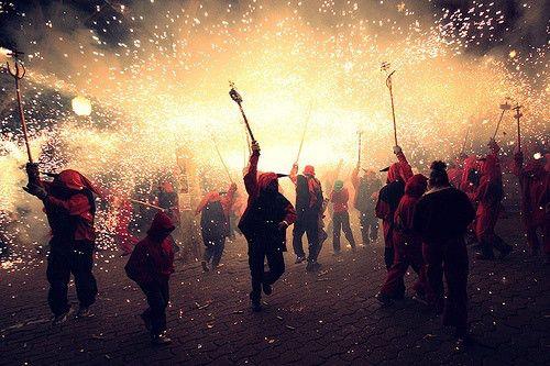 #Festes de #Gracia #bcn #barcelona #summer #fire #party