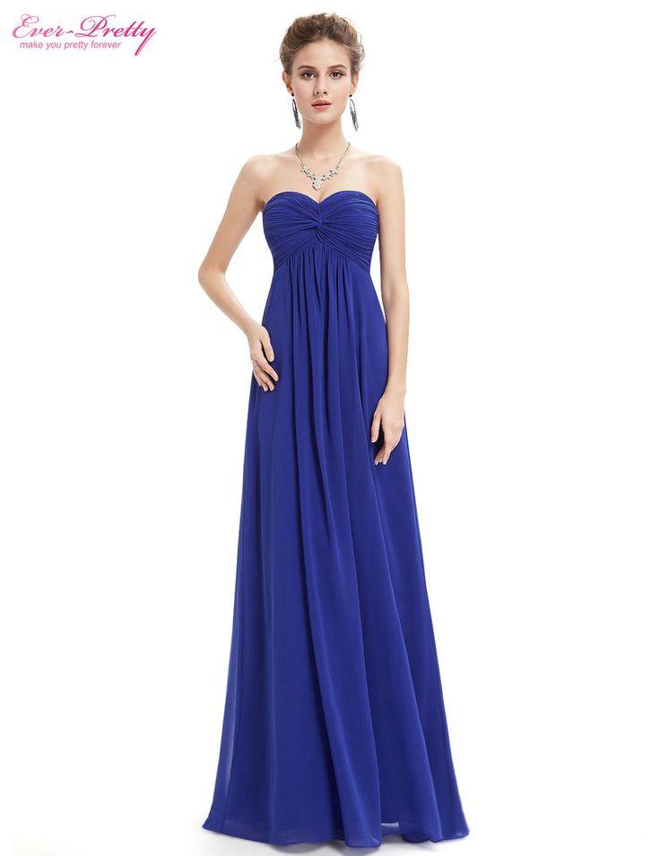 Bridesmaid Dresses 2016 Wedding Party Dress Ever Pretty Ep08084 Strapless Elegant Light Blue Ruffled Long
