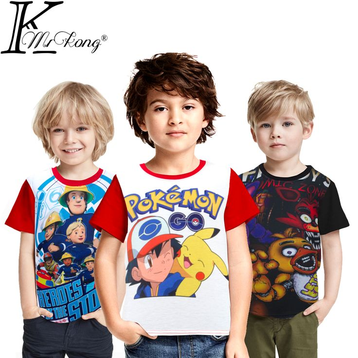 Pokemon Go Boys T Shirt Short Sleeve //Price: $13.36 & FREE Shipping //