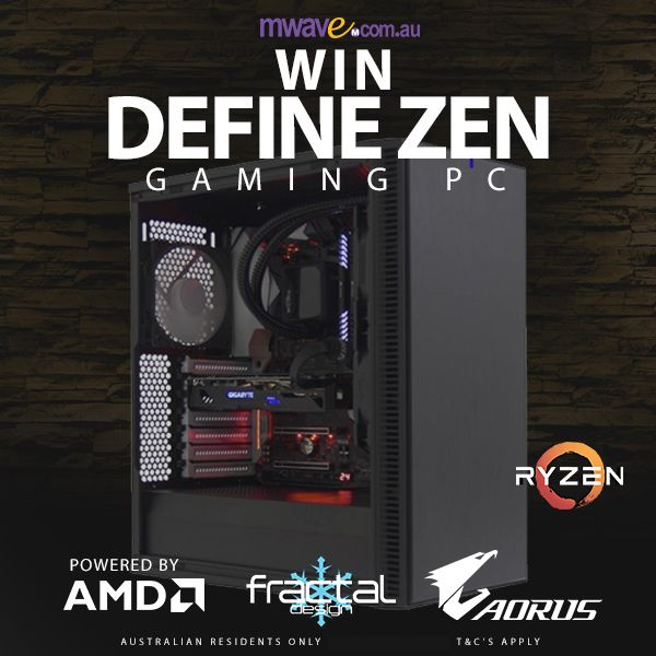 GIVEAWAY: Mwave Define Zen Gaming PC