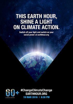 Il Comune di Campobasso aderisce alliniziativa Earth Hour 2016