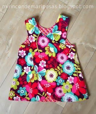 Chicas, esta es vuestra semana retro de la Maratón Telaria , ¡a coser! Pinafore Dress y vaqueros reciclados Os cuento un poco cómo ...