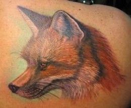 Fox Tattoos And Designs-Fox Tattoo Meanings And Ideas-Animal Fox Tattoos