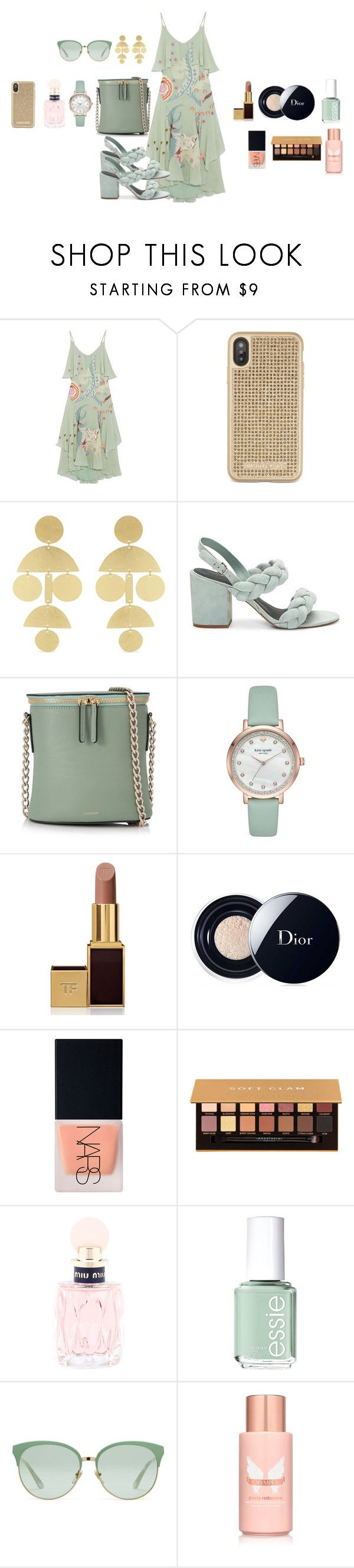 """""""#0624#"""" by uchi7 ❤ liked on Polyvore featuring Temperley London, Michael Kors, Annie Costello Brown, Rebecca Minkoff, Cuero&Mør, Kate Spade, Tom Ford, Christian Dior, NARS Cosmetics and Anastasia Beverly Hills"""