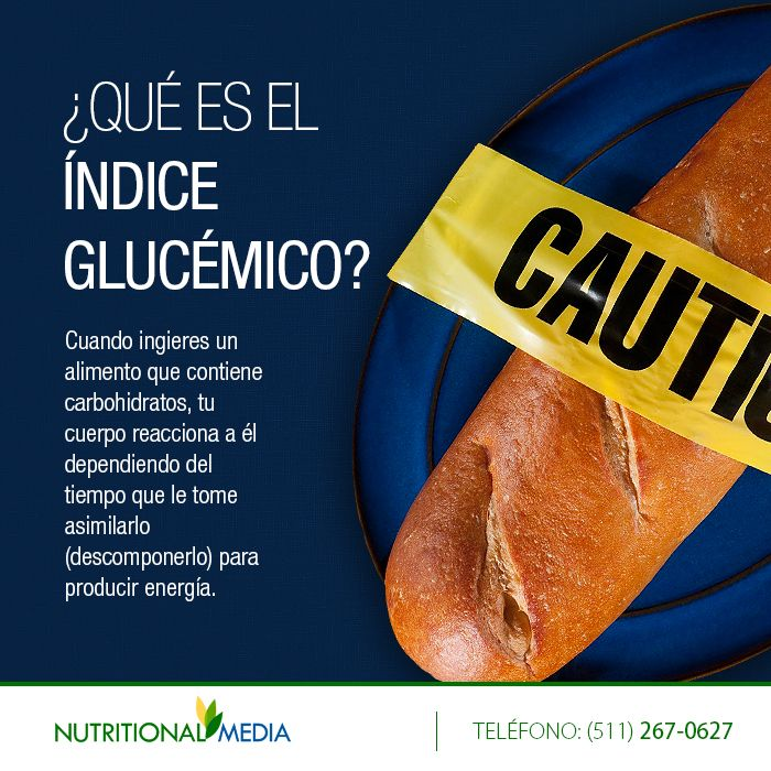 Cuando ingieres un alimento que contiene carbohidratos, tu cuerpo reacciona a él dependiendo del tiempo que le tome asimilarlo (descomponerlo) para producir energía. http://nutritionalmedia.com/que-es-el-indice-glucemico/