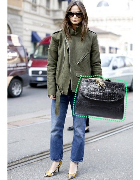 Le sac croco - Quel sac pour quel look ? Nos solutions ! - Elle