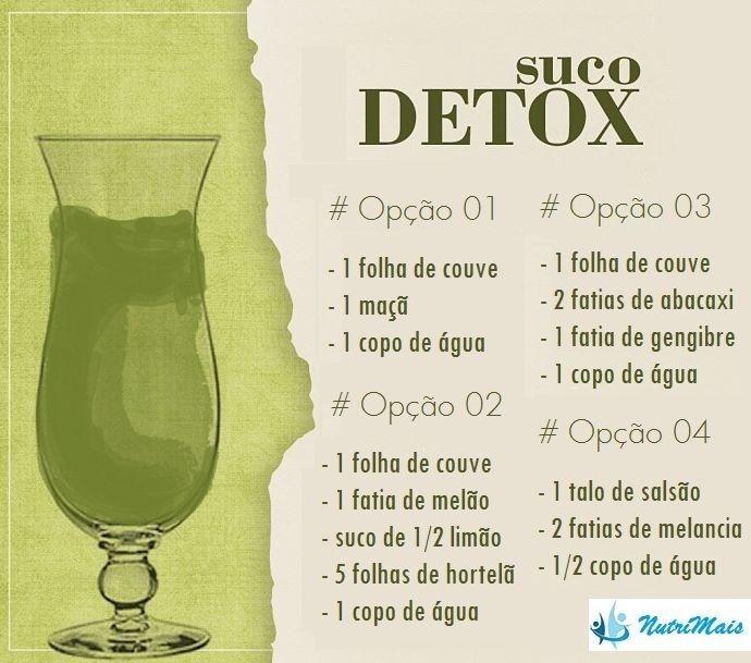 4 dicas de receitas de suco Detox  http://detoxslimfunciona.com/