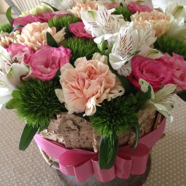 Composizione floreale (torta fiorita)