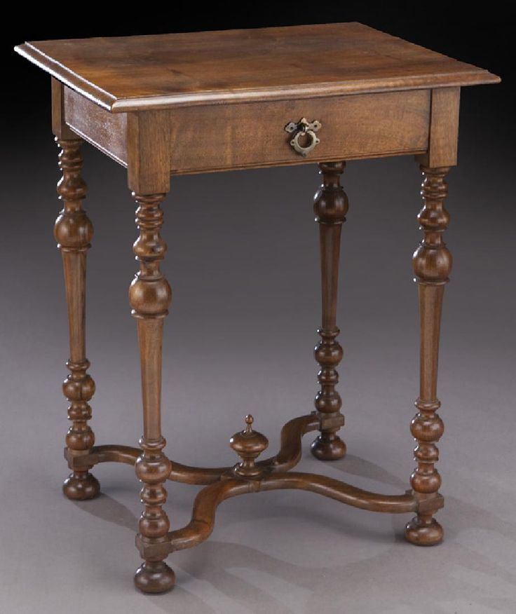 Lot: French fruitwood side table, Lot Number: 0203, Starting Bid: $50, Auctioneer: Dallas Auction Gallery, Auction: The Philip Maia Collection - Session Two, Date: January 26th, 2017 CST