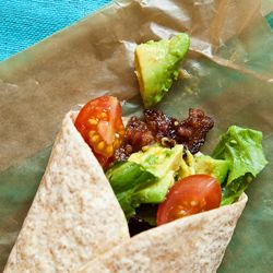 BLTA wraps: 25 Quick and Easy School Lunches to Pack for Your Kids: BA Daily