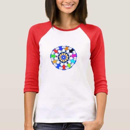People circle pattern T-Shirt - click to get yours right now!