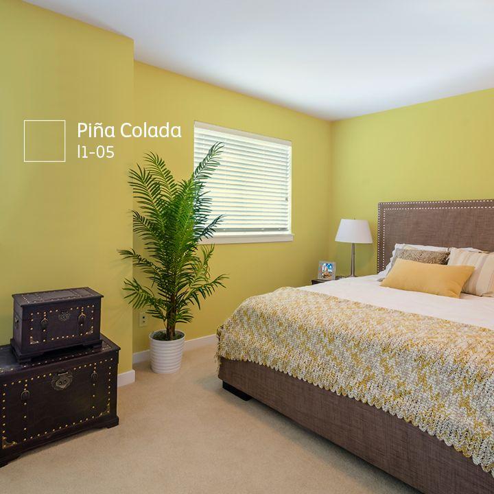 Si deseas un ambiente sobrio decora con plantas y usa un for Decoracion de interiores pintura recamaras