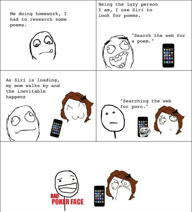 Siri will you do my homework